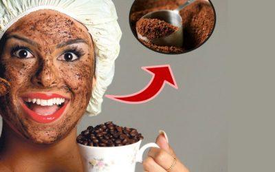 Borra de Café para limpeza de pele PODEROSA