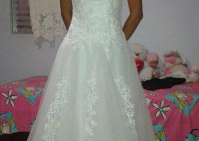 Vestido de Noiva Aliexpress vestido de noiva barato 7