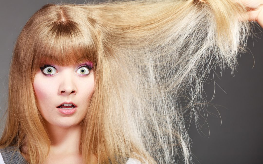 Como recuperar o cabelo após um corte químico